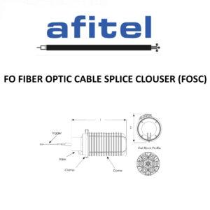 FO FIBER OPTIC CABLE SPLICE CLOSURE (FOSC)